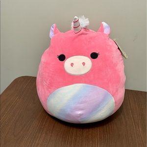 "NWT Squishmallow 16"" Sena the Unicorn"